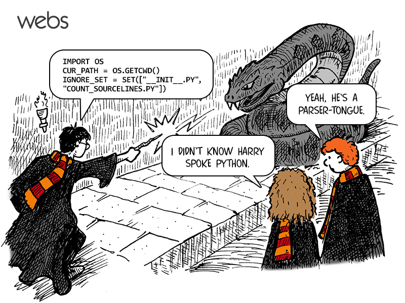 Harry Potter is a parser-tongue!