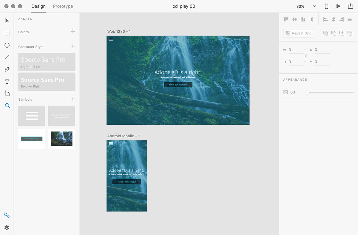 Adobe's answer to Sketch is now on version 1.0