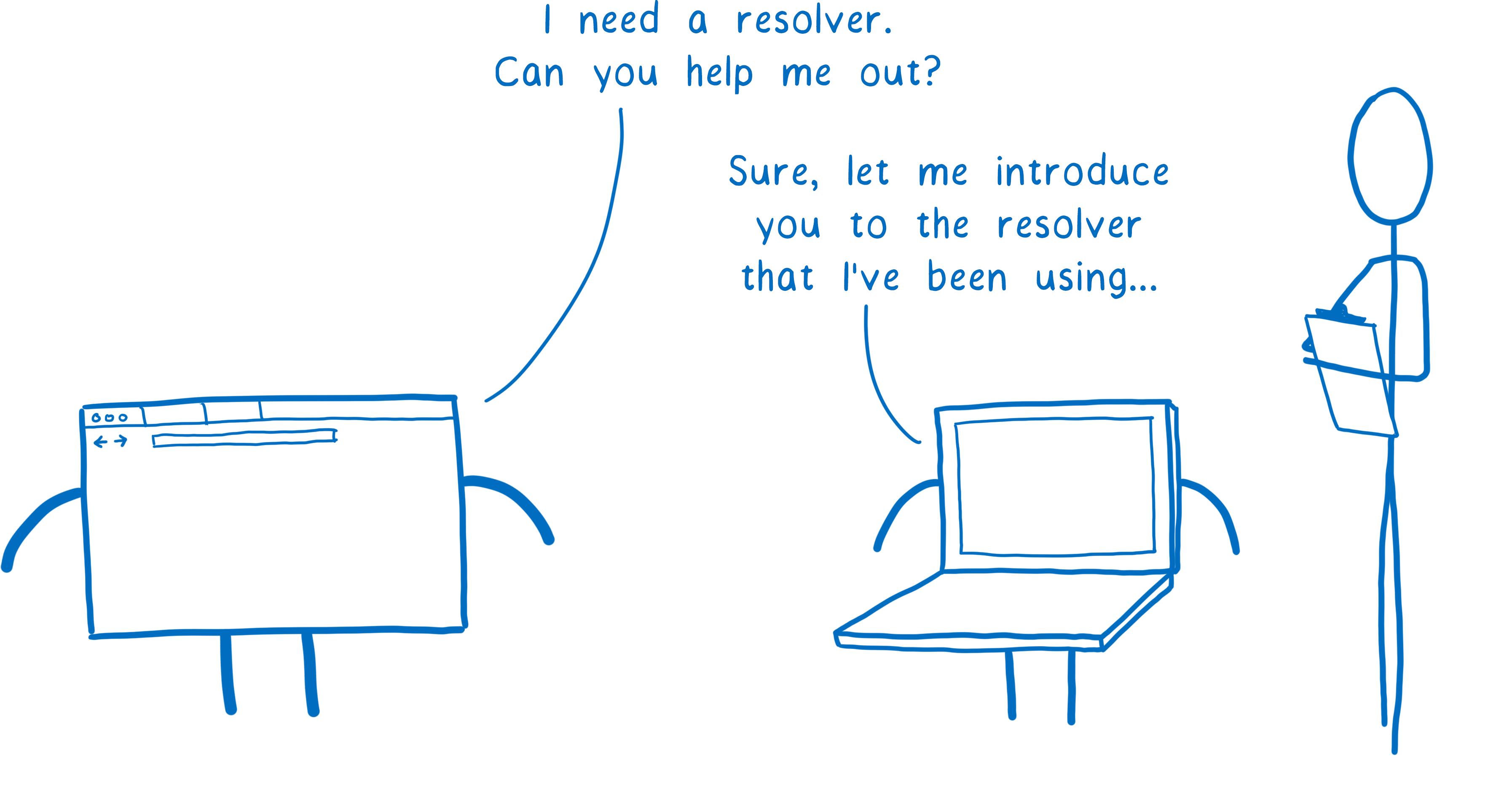 A cartoon intro by Mozilla to DNS over HTTPS