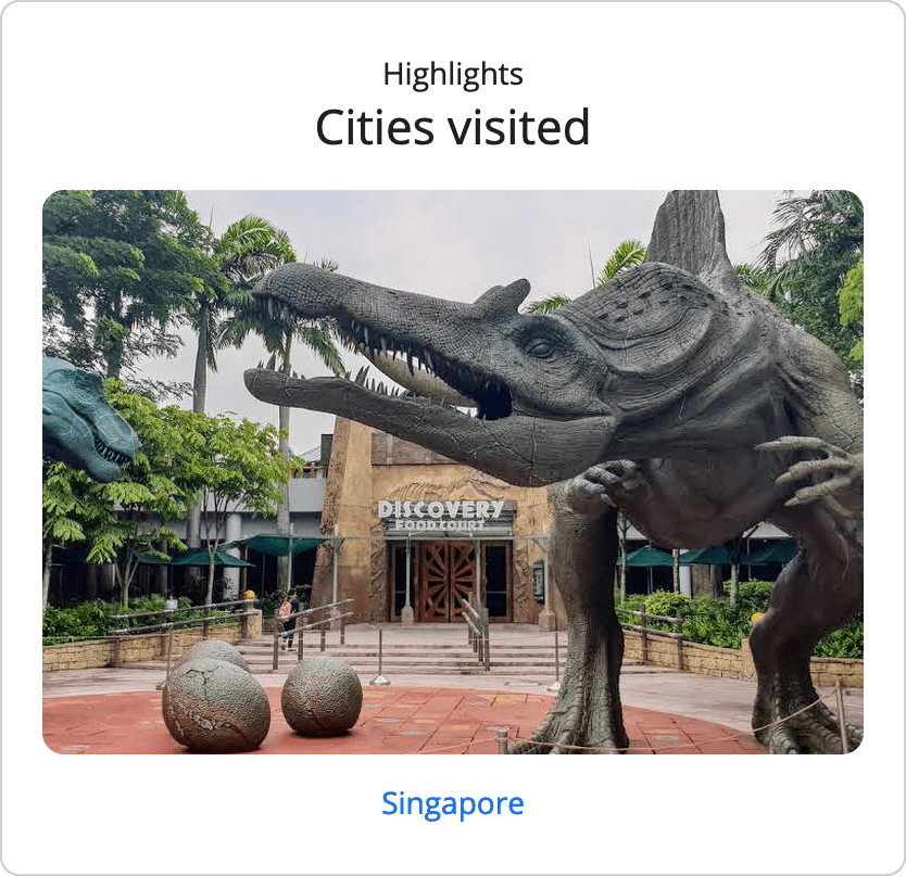 In the middle of a pandemic, I am grateful to be safe in Singapore but I so miss seeing new places.
